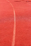 Running spår för idrottsman nenar Royaltyfri Bild