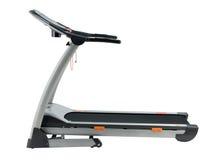 running spårtreadmill för övning Arkivfoton