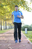 Running sport man Royalty Free Stock Photos
