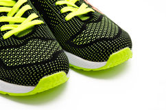 Running sport shoes isolated on a white Royalty Free Stock Images