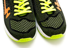 Running sport shoes isolated on a white Royalty Free Stock Photography