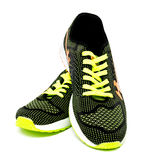 Running sport shoes isolated on a white Stock Photo