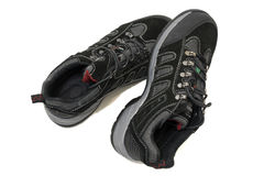 Running sport shoes stock image