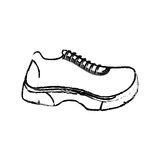 Running sport sneaker Royalty Free Stock Image