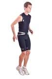 Running sportman Stock Image