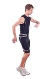 Running sportman Stock Images