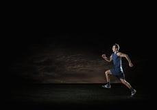 Running sportman Royalty Free Stock Image