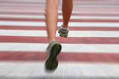 running stads- royaltyfri foto