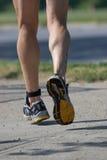 running starkt Royaltyfria Foton