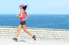 Running in summer Stock Photos