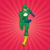Running Superhero Stock Images