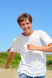 Running teenager Royalty Free Stock Photography