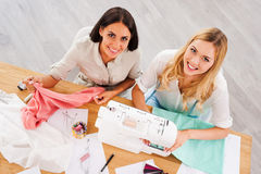 Running their business together. Royalty Free Stock Image