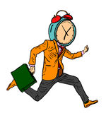 Running Time Stock Image