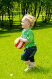 Running toddler Royalty Free Stock Image