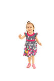 Running toddler girl Stock Photo