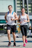 Running together Royalty Free Stock Photo