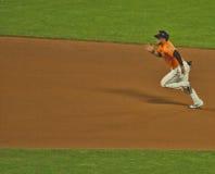 Running Toward Third Base--San Francisco Giants Royalty Free Stock Photo