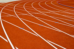 Running track Royalty Free Stock Image