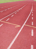 Running track. For race, for concept or background stock image