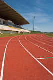 Running track Royalty Free Stock Photos