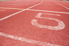 Running track. For race, for concept or background stock photos