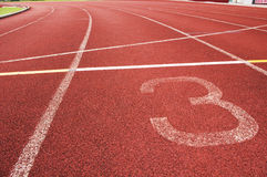 Running track. For race, for concept or background royalty free stock images