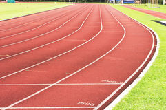 Running track. For race, for concept or background royalty free stock photography