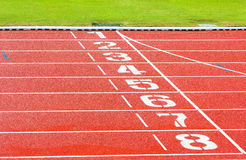 Running track Stock Images