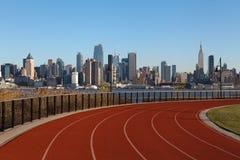 Running Track. Stock Photo