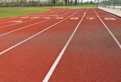 Running Track Stock Image
