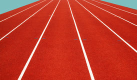 Running track Stock Photography