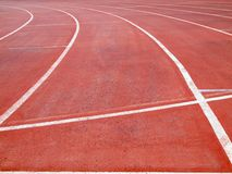 Running track. Ground line running track background Royalty Free Stock Photography