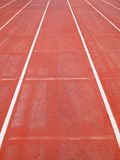 Running track. Ground line running track background Royalty Free Stock Images