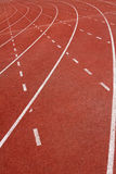 Running Track. For race. for concept or background royalty free stock photography
