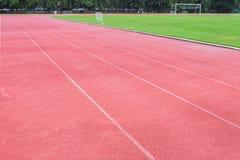 Running track Stock Photos