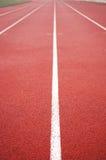 running track Στοκ φωτογραφία με δικαίωμα ελεύθερης χρήσης