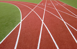 Free Running Track Royalty Free Stock Photo - 9035005