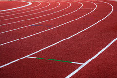 Running track, abstract, texture, background. Royalty Free Stock Image