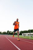 Running At the Track Stock Images
