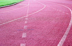 Running track - for  the athletes Stock Photos