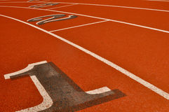 Running Track Background Royalty Free Stock Photo