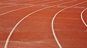 Running track background Royalty Free Stock Image