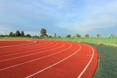 Running track Royalty Free Stock Photo