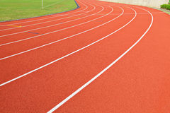 Running track Royalty Free Stock Images