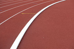 Running track. Red running track, olimpic background royalty free stock photography