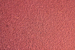 Running track rubber cover texture Stock Photo