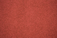 Running track rubber cover texture Stock Images