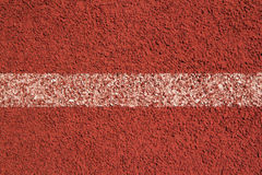 Running track rubber cover texture Stock Photography