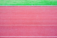 Running track rubber Royalty Free Stock Photography